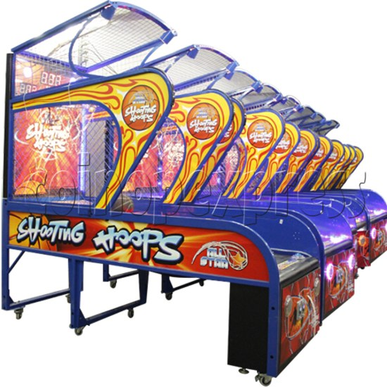 Shooting Hoops basketball machine 34613