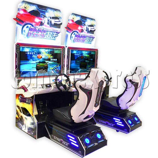 Ultra Race Arcade Car Racing Game machine 34663