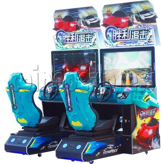 Ultra Race Arcade Car Racing Game machine 34664