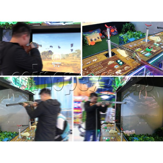 Adventure Hunter Shooting Arcade Game (4 players) 34673