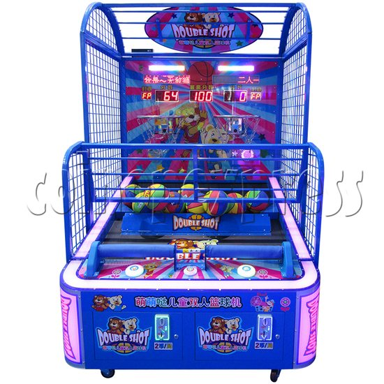 Double Shot Basketball Machine (2 players) 34825