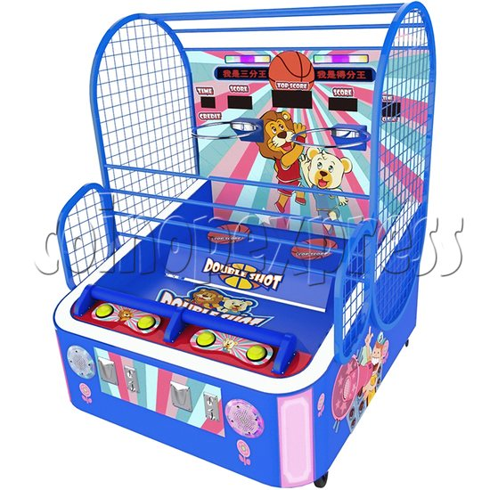 Double Shot Basketball Machine (2 players) 34826