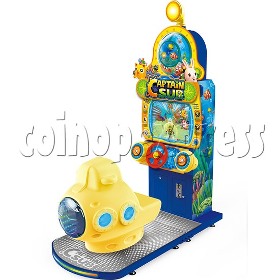 Captain Sub Motion Video Kiddie Ride 34852
