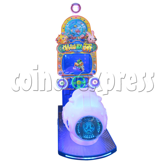 Captain Sub Motion Video Kiddie Ride 34853
