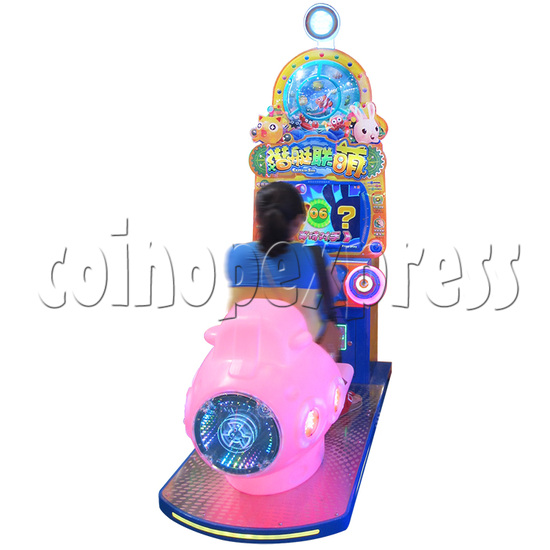 Captain Sub Motion Video Kiddie Ride 34854