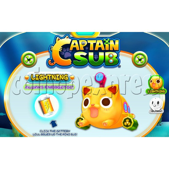 Captain Sub Motion Video Kiddie Ride 34892