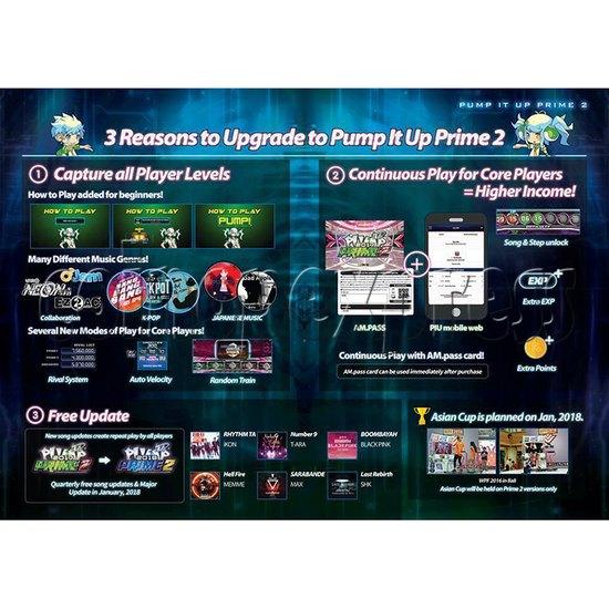 Pump It Up Prime 2 2017 Dance Machine ( LX 55 inch LCD screen) 34901