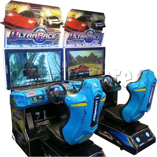 Ultra Race Arcade Car Racing Game machine 34964
