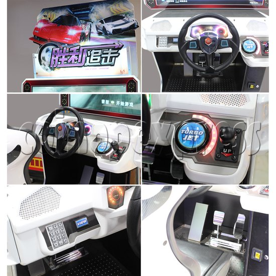 Ultra Race Arcade Car Racing Game machine 34970