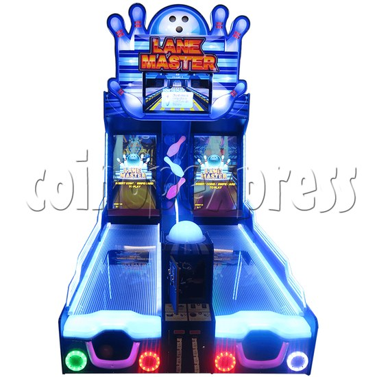 Lane Master Alley Video Bowling Machine Twin 34971