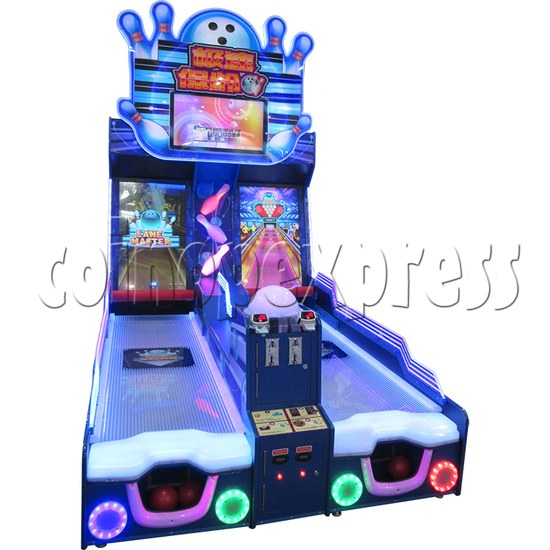 Lane Master Alley Video Bowling Machine Twin 34972