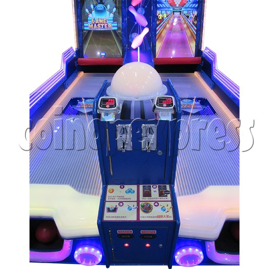Lane Master Alley Video Bowling Machine Twin 34973