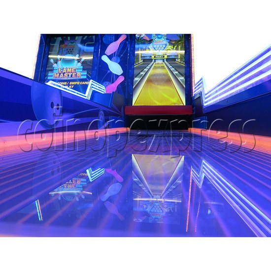 Lane Master Alley Video Bowling Machine Twin 34975