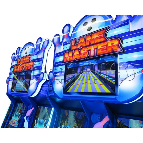Lane Master Alley Video Bowling Machine Twin 34978