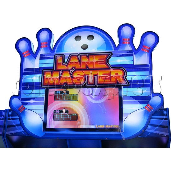 Lane Master Alley Video Bowling Machine Twin 34979