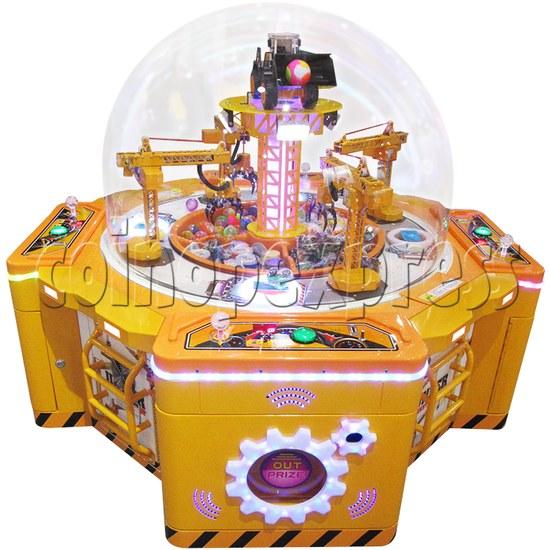 Machine Family Prize Machine  - Happy Crane and Excavator 34980