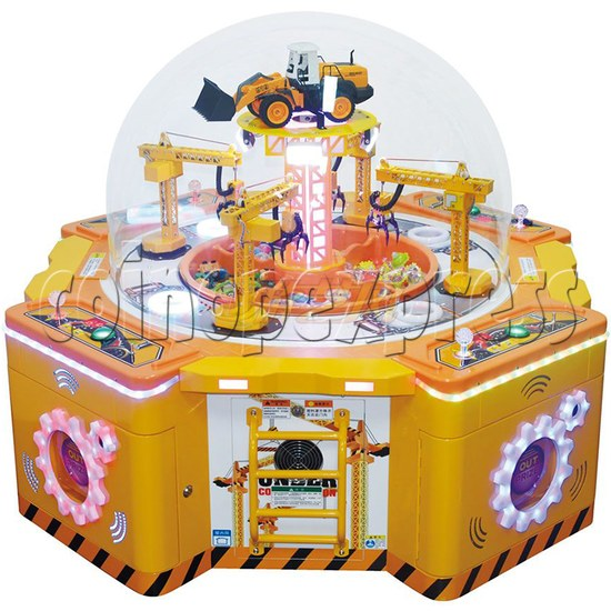 Machine Family Prize Machine  - Happy Crane and Excavator 34981