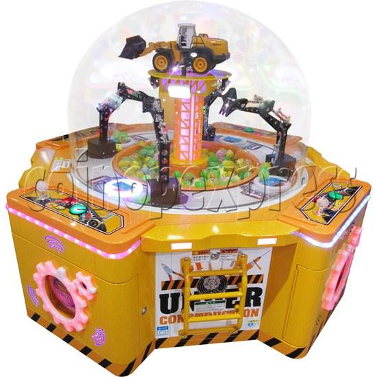 Machine Family Prize Machine  - Happy Crane and Excavator 34991