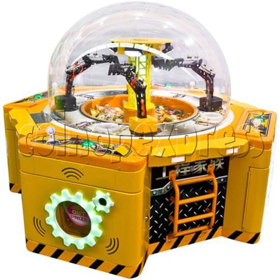 Machine Family Prize Machine  - Happy Crane and Excavator 34992