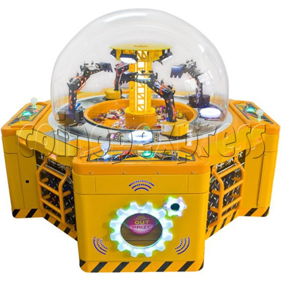 Machine Family Prize Machine  - Happy Crane and Excavator 34993