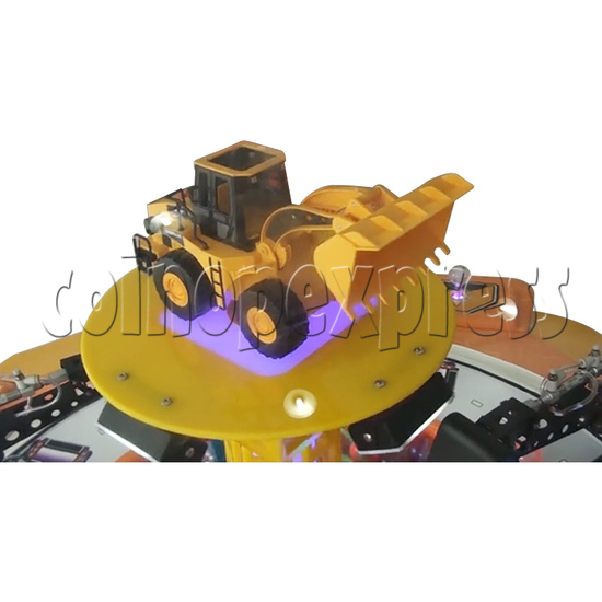 Machine Family Prize Machine  - Happy Crane and Excavator 34995