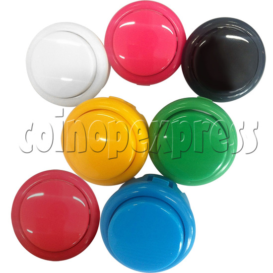 30mm Round Momentary Contact Push Button with Clipper 35000
