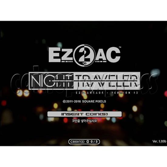 EZ2 DJ AC Night Traveller Full Game Board Kit 35030
