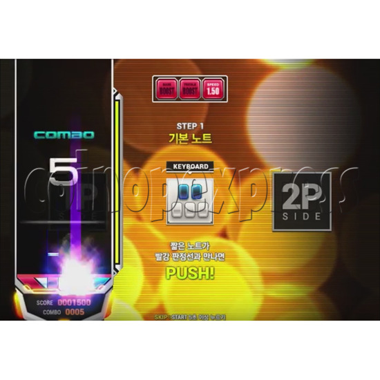 EZ2 DJ AC Night Traveller Full Game Board Kit 35034