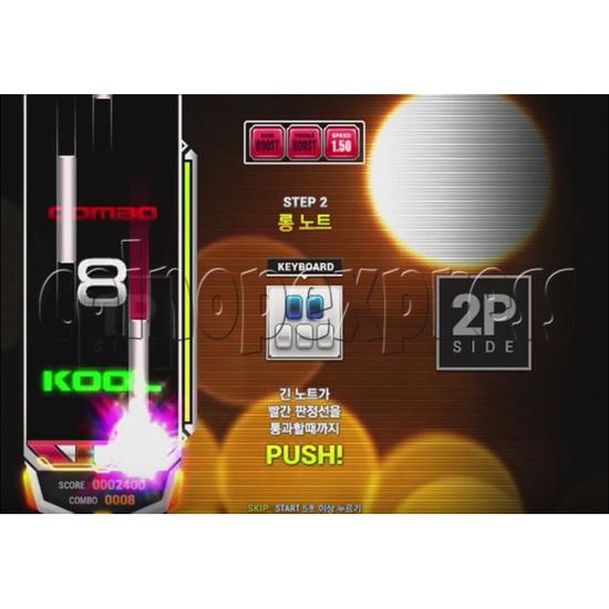 EZ2 DJ AC Night Traveller Full Game Board Kit 35035