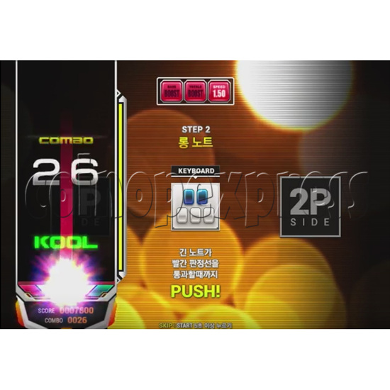 EZ2 DJ AC Night Traveller Full Game Board Kit 35038
