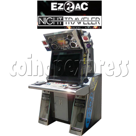 EZ2 AC Night Traveller Game Machine- Arcade Version 13 35084