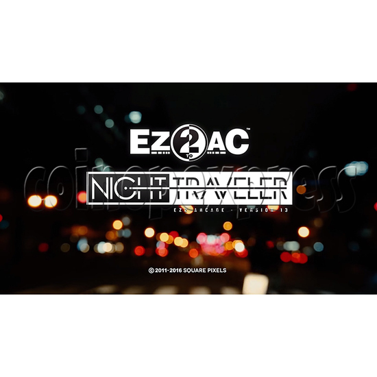 EZ2 AC Night Traveller Game Machine- Arcade Version 13 35086