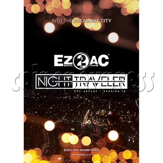 EZ2 AC Night Traveller Game Machine- Arcade Version 13 35089