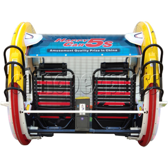 Happy Battery Car (2 players) - back view