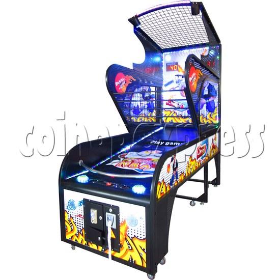 Crazy Hoops Folding Basketball Machine 35231