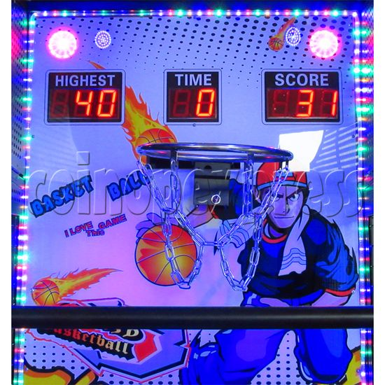 Crazy Hoops Folding Basketball Machine 35234