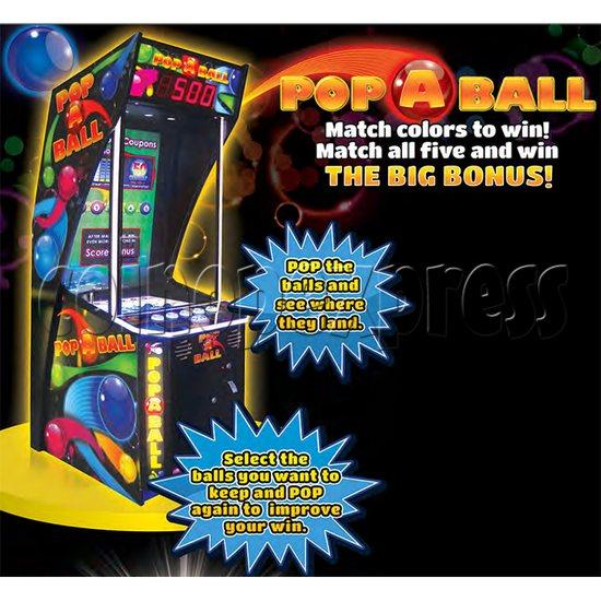 Pop A Ball Video Redemption Machine 35250