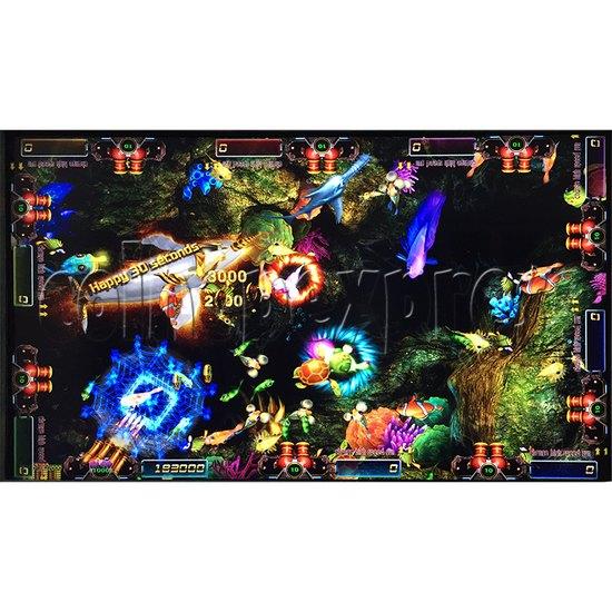 Sea king 2 Tyranngsaurus fish game board kit - game play-4
