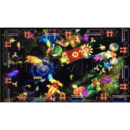 Sea king 2 Tyranngsaurus fish game board kit - game play-5