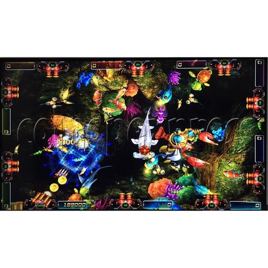 Sea king 2 Tyranngsaurus fish game board kit - game play-6