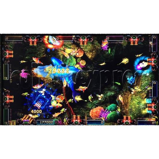 Sea king 2 Tyranngsaurus fish game board kit - game play-7