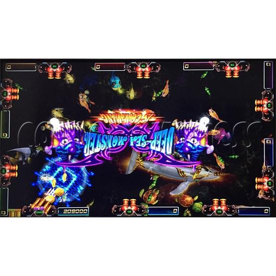 Sea king 2 Tyranngsaurus fish game board kit - game play-8