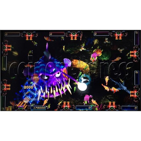 Sea king 2 Tyranngsaurus fish game board kit - game play-9