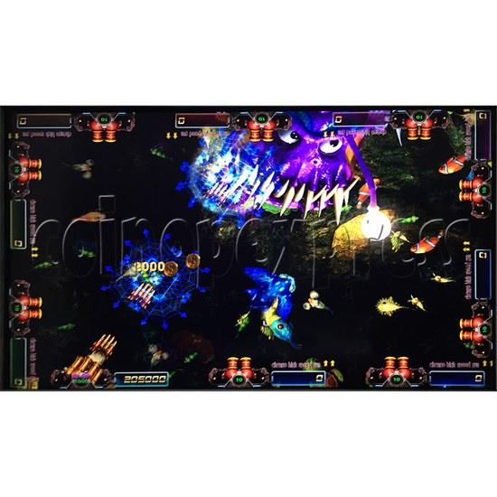 Sea king 2 Tyranngsaurus fish game board kit - game play-11