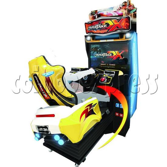 Overtake DX Arcade Driving Game Machine 35288