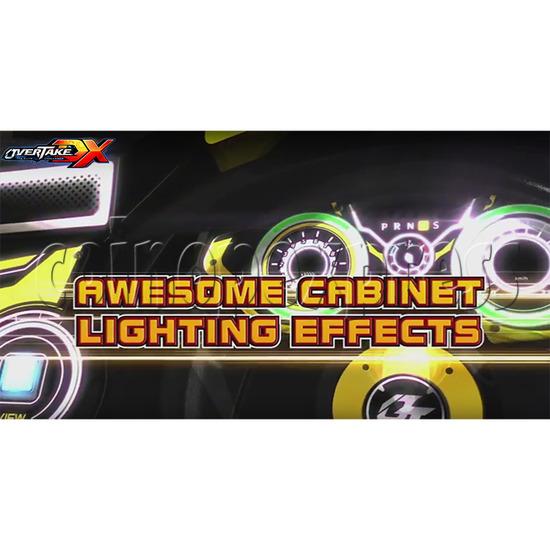 Overtake DX Arcade Driving Game Machine 35292