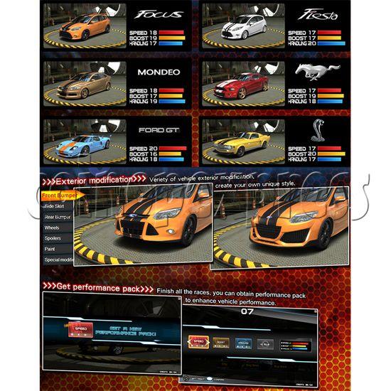 Overtake DX Arcade Driving Game Machine 35295
