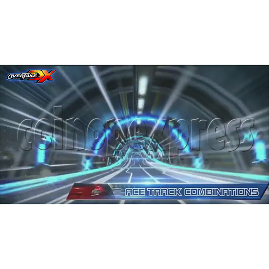 Overtake DX Arcade Driving Game Machine 35300
