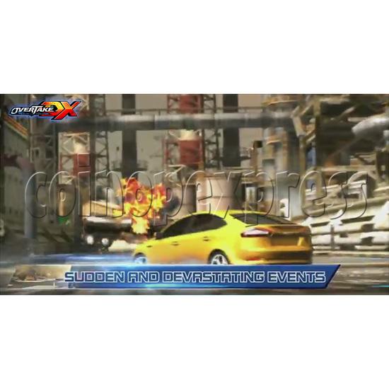 Overtake DX Arcade Driving Game Machine 35301