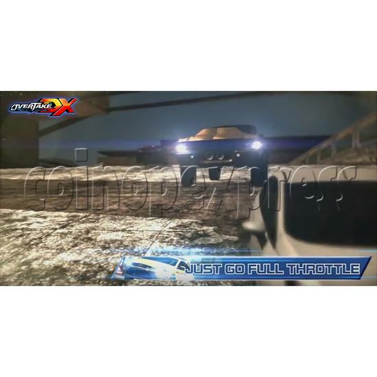 Overtake DX Arcade Driving Game Machine 35302